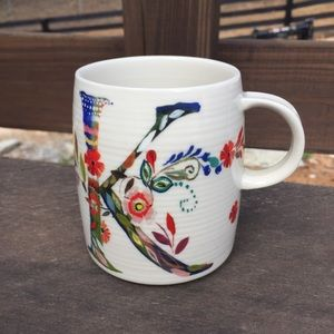 Anthropologie | Monogram Mug